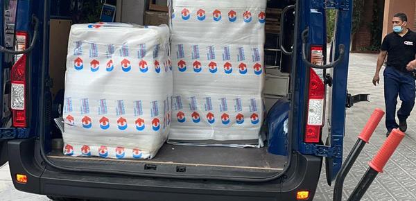 Servicio de alquiler de vehículos de transporte por horas en Barcelona nos encargamos de embalaje